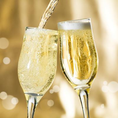Champagne en parfumerie