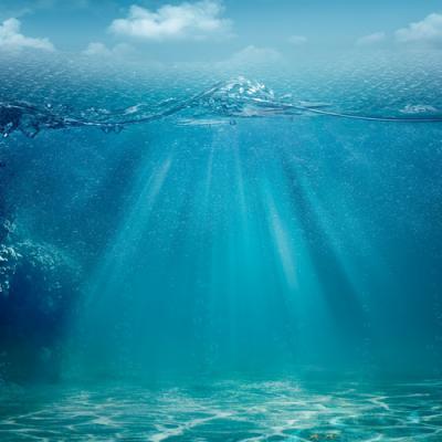 Eau de mer en parfumerie