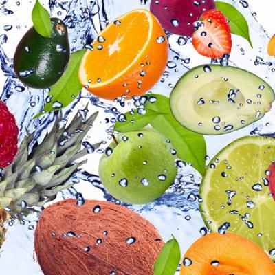 Fruits d'eau en parfumerie