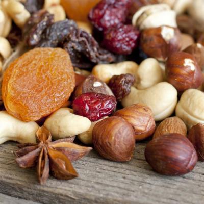 Fruits secs en parfumerie