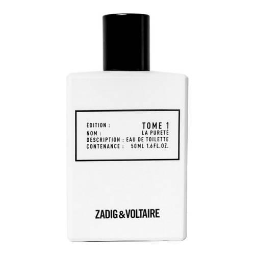 eau de toilette tome 1 la puret zadig voltaire parfum. Black Bedroom Furniture Sets. Home Design Ideas